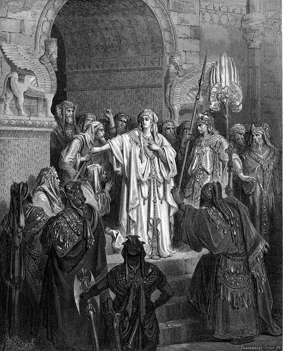 Queen Vashti Refuses to Obey the Command of Ahasvuerus